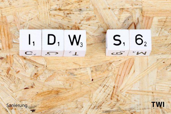 Buchstabenwürfel mit Text
